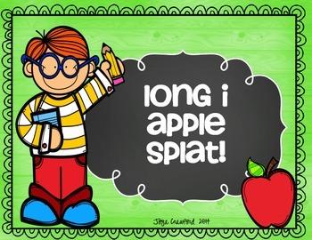 Long Vowels Game: Apple SPLAT!