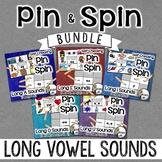 Long Vowels BUNDLE - Self-Checking Phonics Centers