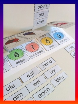 Long Vowels - Flap Book