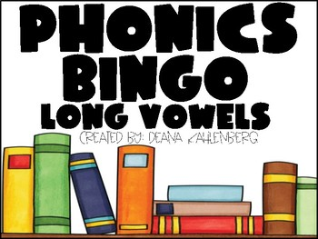 Phonics Bingo {Long Vowels}