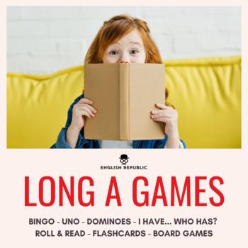 Long Vowels Bingo CVCV - Long A