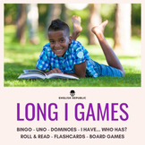 Long I Games - CVCV Bingo, Dominoes, and other Board Games