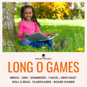 Long Vowels Bingo CVCV - Long O