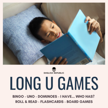 Long Vowels Bingo CVCV - Long U