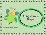 Long Vowels Bingo Game