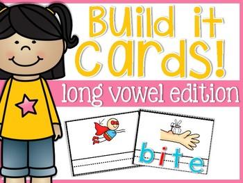 Long Vowels Build It Cards