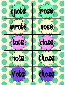 Long Vowels Bundle