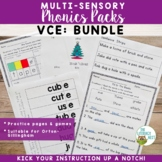 Orton-Gillingham Activities: VCE Long Vowels Multisensory Reading and Spelling