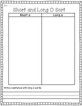 Long Vowels Bundle! Phonics/Word Work