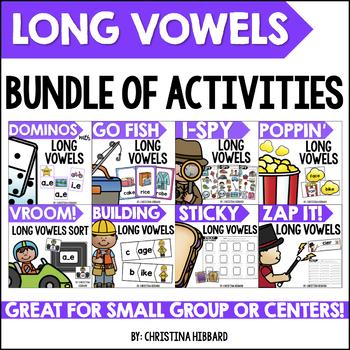 Long Vowels Bundle of Activities