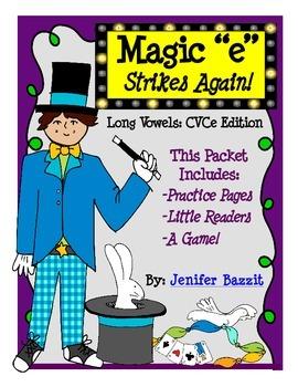 Long Vowels CVCe Edition: Magic e Strikes Again!
