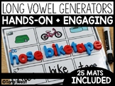 Long Vowels CVCe Generator Mats