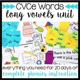 Phonics By Design Long Vowels CVCe Word Unit BUNDLE