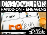 Long Vowels CVCe Word Dough Mats