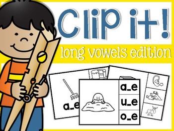 Long Vowels Clip It