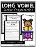Long Vowels. Comprehension Passages. Simple Sentences. Comprehension Questions.