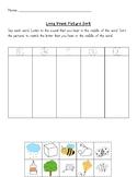 Long Vowels - Cut and Paste Sorting Worksheet - No prep!