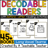 Long Vowels Decodable Readers   Printable Decodable Books
