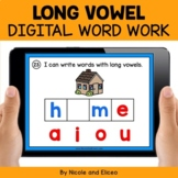 Long Vowels Digital Word Work for Google Classroom