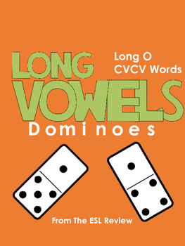 Long Vowels Dominoes CVCV - Long O