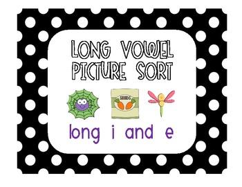 """Long Vowels """"E"""" & """"I"""" Sort [FREEBIE!]"""