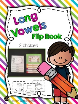Long Vowels Flip Book