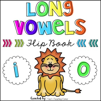 Phonics Flip Book: Long Vowels (i,o)