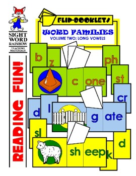 Long Vowels Flip Booklets