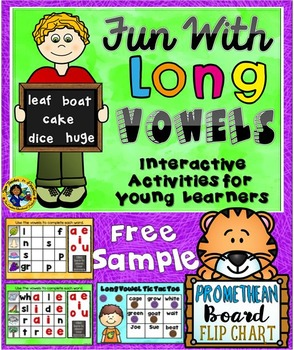 Long Vowels Promethean Flip Chart Free Sample