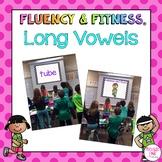 Long Vowels Fluency & Fitness Brain Breaks Bundle