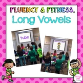 Long Vowels Fluency & Fitness Brain Breaks Bundle