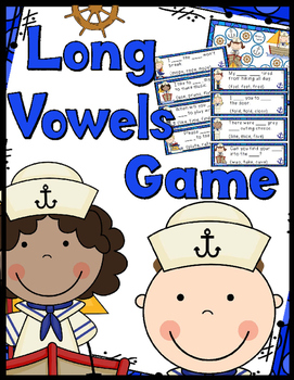 Long Vowels Game - Game Board, Answer Key, 30 Task Cards