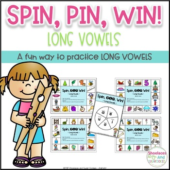 Long Vowels Game ~ Spin, Pin, Win!