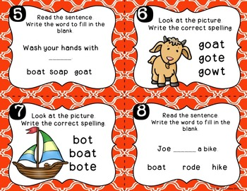 Long Vowels Games