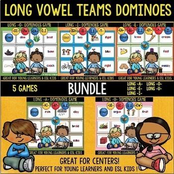 Long Vowels Games | Dominoes | Bundle