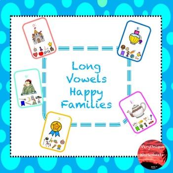 Long Vowels Happy Families