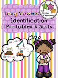 Long Vowels: Identification Printables & Sorts