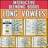 Long Vowels Blending and Segmenting Books (7 Books) - Vowe