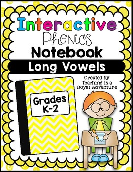 Phonics-Based Interactive Notebook: Long Vowels