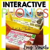 Long Vowels- Interactive Phonics Mats