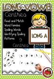 Long Vowels - Long A Centres