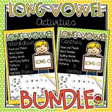 Long Vowels - Long O Activities BUNDLE