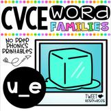 Long U Vowels (CVCE Words) No Prep Phonics Printables