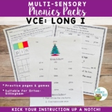 VCE Long Vowels- Long I Orton-Gillingham Level 1 Multisensory Phonics Activities