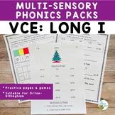 VCE: Long I | Orton-Gillingham Activity Multisensory Phoni