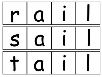 Long Vowels - Make A Word Bundle