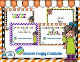 Long Vowels - Making Words w/ Letter Tiles and Creating Long Vowel Word Books