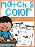 Long Vowels Match Up Sheets