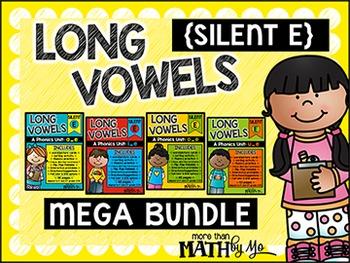 Long Vowels - Mega Bundle {Silent E}