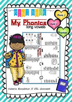 Long Vowels- Mini Book / Phonics
